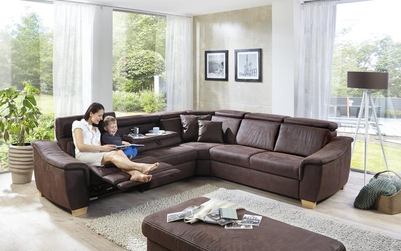 Sofas und Wohnlandschaften : Concord S / Motorisch verstellbare ...